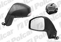 Зеркало левое электр 9pin черн Renault Scenic 3 09-13