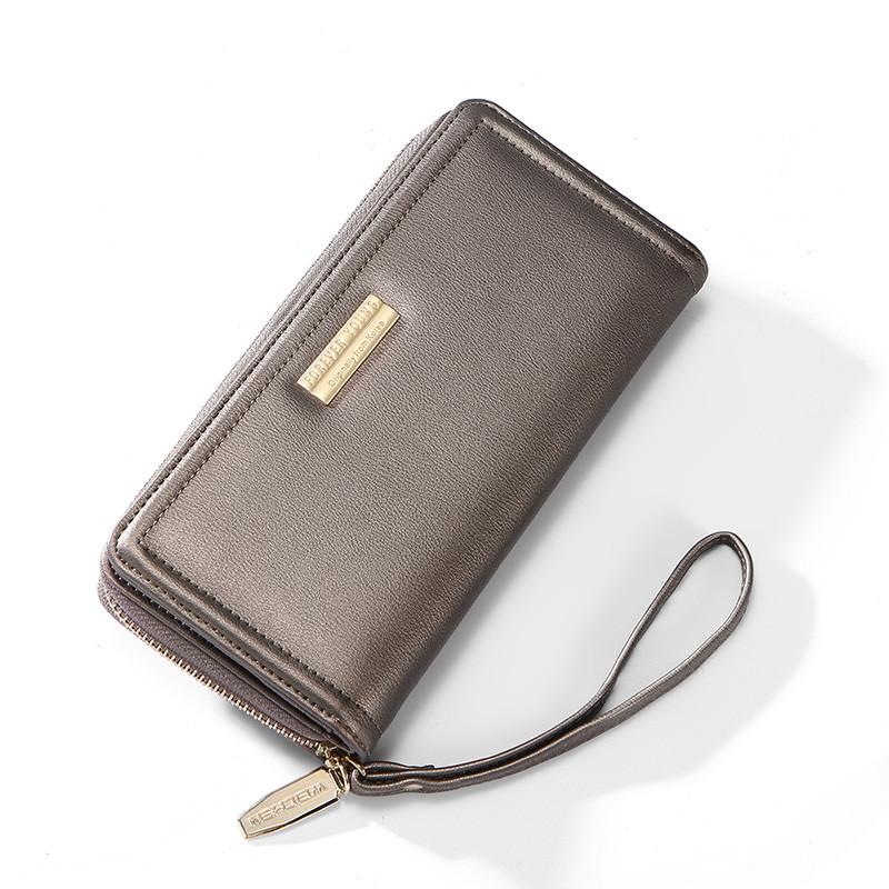 Женский кошелек портмоне Weichen LW-5718 серый