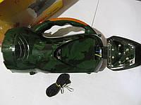 Светодиодный аккумуляторный фонарь YJ-2807 (ручной, настольный), фото 1