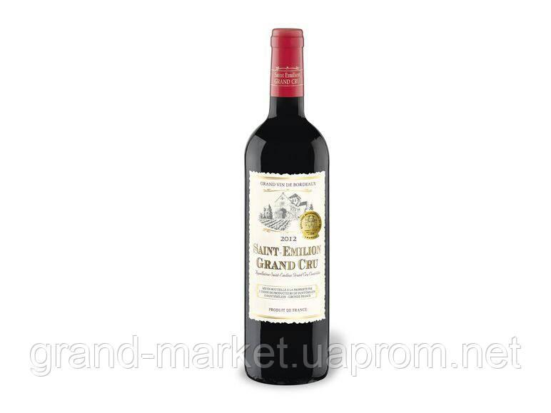 Вино Saint-emilion Grand Сгі 2012