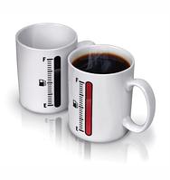 """Оригінальна чашка хамелеон, купити кружку для чаю та кави Youngpig """"TANK UP"""" (408)"""