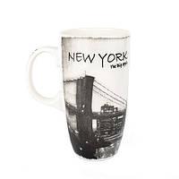 Оригінальна чашка, купити кружку для чаю та кави Youngpig «New York big apple» (2167)