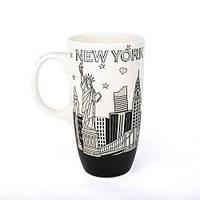 Оригінальна чашка, купити кружку для чаю та кави Youngpig «New York» (2106)