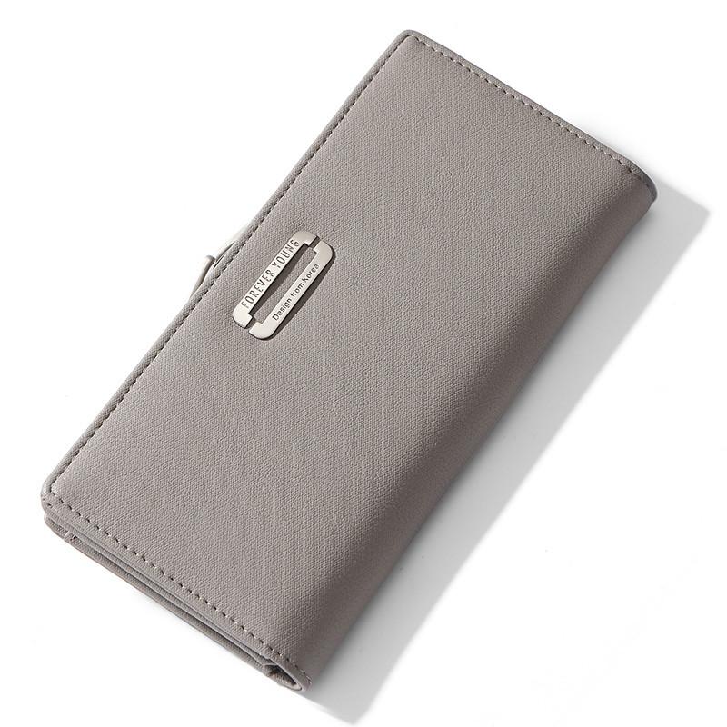 Женский кошелек портмоне Weichen LW-7519 серый