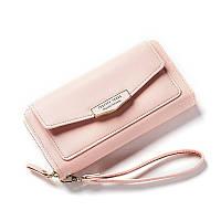 Кошелек, портмоне женский Forever Young LW-7575-B розовый