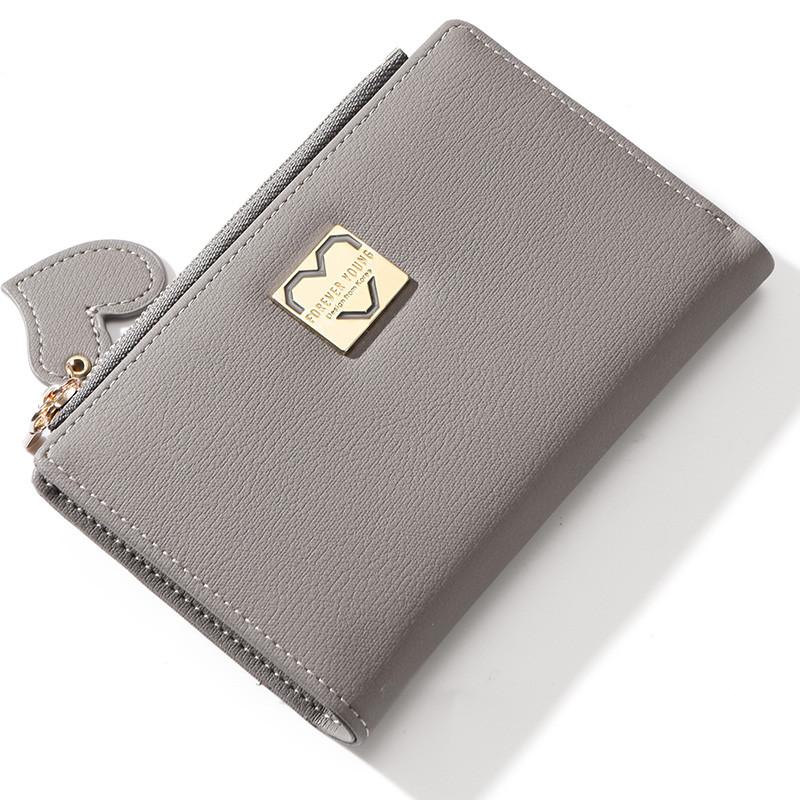 Женский кошелек Weichen LW-8599 серый