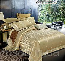 Комплект постельного белья из жаккарда love you евро 1-29