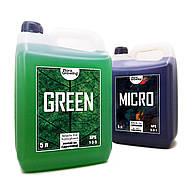 2 х 5 л Green Kit набор удобрений для гидропоники и почвы