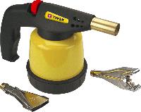 Лампа 44E144 Topex паяльная газовая, картриджи 190 г, 2 дополнительные насадки
