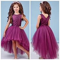 Бордовое ассиметричное платье zironka