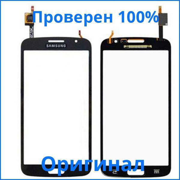 Оригинальный тачскрин Samsung SM-G7102 Galaxy Grand 2 черный (сенсорный экран, стекло в сборе)