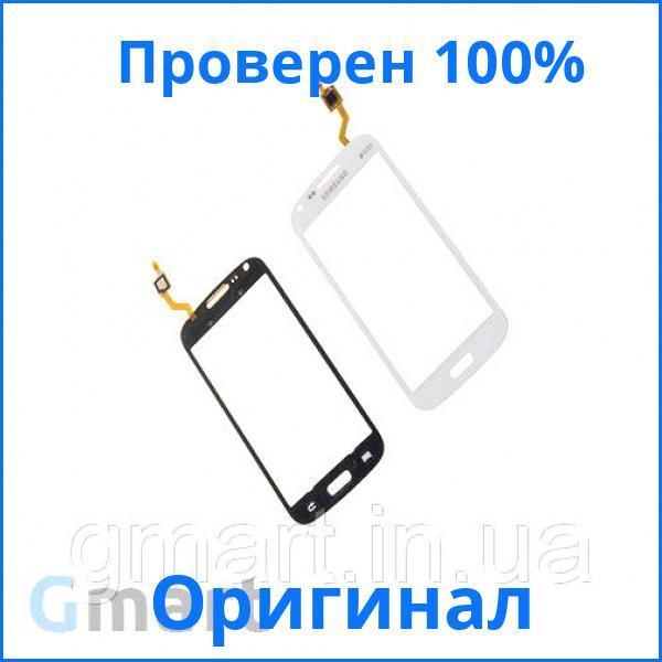 Оригинальный тачскрин Samsung i8262 Galaxy Core Duos белый (сенсорный экран, стекло в сборе)