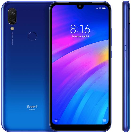 Xiaomi Redmi 7 2/16Gb Blue (Global) Гарантия 1 Год