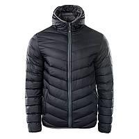6267bcef81855 Куртка Hi-Tec Salrin BLACK DARK GREY M Черный 5902786087808BK-M, КОД: