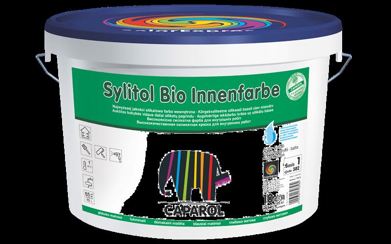 Sylitol Bio Innenfarbe интерьерная краска без растворителей на силикатной основе - пригодна для аллергиков.