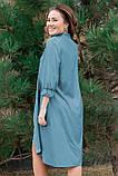 Стильное джинсовое весеннее платье 42-60р, фото 5