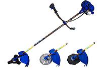Бензокоса Байкал БК-3500 - Мотокоса оригинал (3 ножа 3-х лоп, 8-ми лоп и 40-а лоп с победитом+2 шпули), фото 1