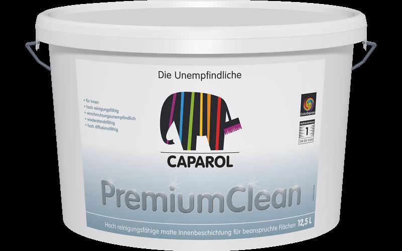 Интерьерная акриловая краска PremiumClean B1, 12,5 л. Специально для помещений с частой уборкой.