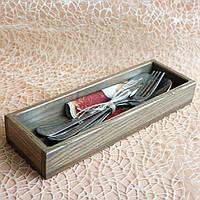 """Коробочки для приборів Серії """"Мінімалізм"""" LAS Сірий260 х 85 х 35h мм 1115-SCL"""
