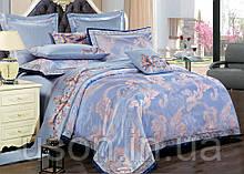 Комплект постельного белья из жаккарда love you евро 1-34