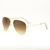 Окуляри TOP Aviator краплі сонцезахисні Brown G