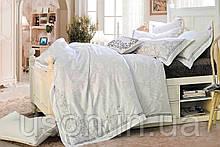 Комплект постельного белья из жаккарда love you евро 1-36