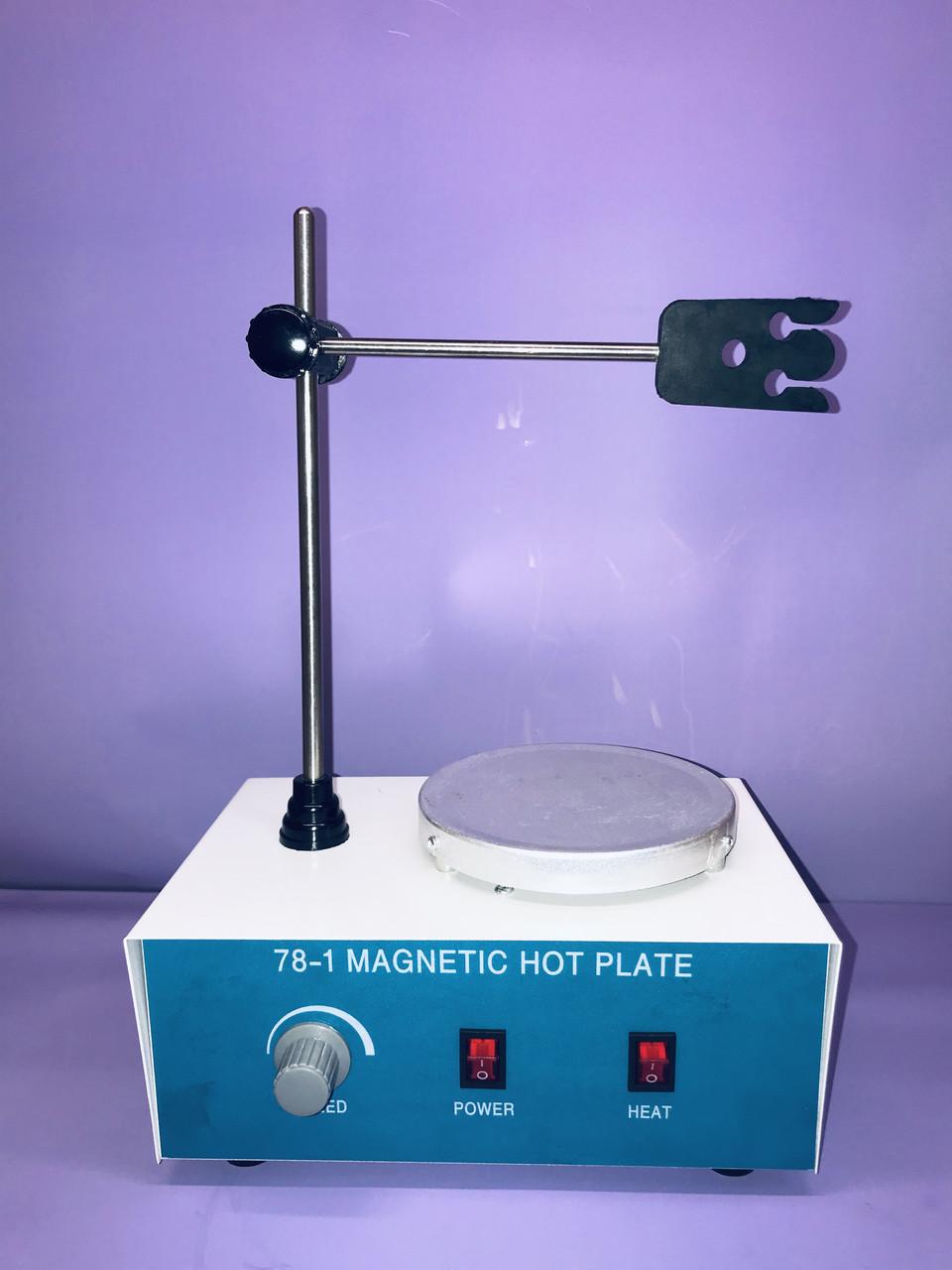 Магнитная мешалка с подогревом 100-2400 об/хв
