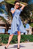 Романтичное Летнее платье в полоску 42-60р, фото 10