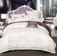 Комплект постельного белья из жаккарда love you евро 1-39