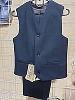 Классический костюм для мальчика брюки и жилет (116-128р)