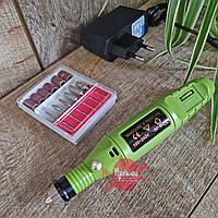 Фрезер-ручка Electric drill 20000 об/мин, 10 Вт, цвет - зеленый, фото 1