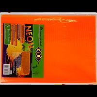 Набор обложек для учебников 1-11 класс Zibi KIDS Line NEON с клапаном, 5 шт, оранжевый (ZB.4750-11) (5 шт)