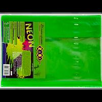 Набор обложек для учебников 1-11 класс Zibi KIDS Line NEON с клапаном, 5 шт, салатовый (ZB.4750-15) (5 шт)