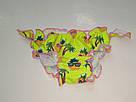 Плавочки для купания на девочку яркие малиновые ананасики, фото 2