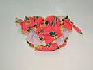 Плавочки для купания на девочку яркие малиновые ананасики, фото 4