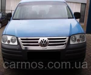 Накладка на решетку Volkswagen CADDY (03-10) (Фольксваген кадди), нерж.