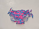 Плавочки для купания на девочку темно-синие с фламинго, фото 5