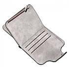 Женский кошелек Baellerry N2346 GREY, Mini Клатч серый, фото 2