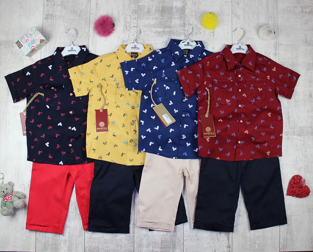 Костюмы детские оптом на лето для мальчика №0576
