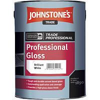 Johnstones Professional Gloss 2,5 л глянцевая краска для внутренних и наружных работ
