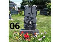 """Дитячий пам'ятник """"мішка"""" із граніту"""