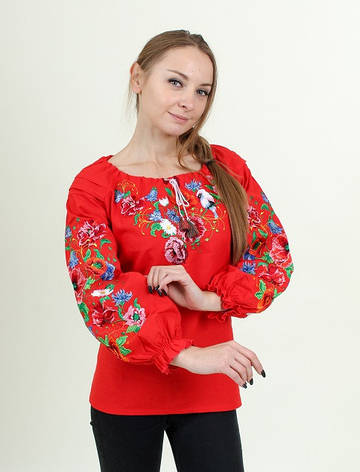 "Блуза - вышиванка ""Нежная песня"", фото 2"