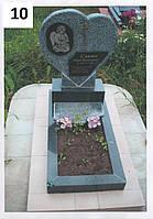 Дитячий пам'ятник серце із покостівського граниту