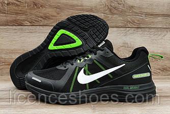 Чоловічі легкі літні кросівки Nike Air Max Shield Dual Fusion X2 Total Black