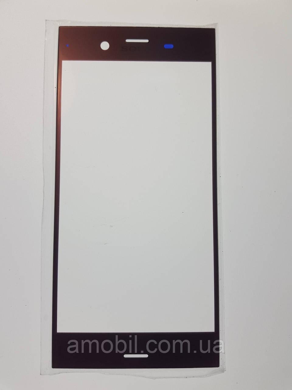 Стекло Sony G8341 Xperia XZ1 / G8342 pink