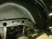 Подкрылок задний левый для Mitsubishi Pajero IV '07- (Novline)