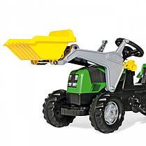 Детский трактор Rolly Toys с прицепом и ковшом, фото 2