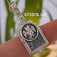 Серафим Саровский кулон иконка серебряная - Серебряная ладанка Святой Серафим, фото 2