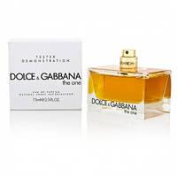 ТЕСТЕР Dolce&Gabbana The one 75 ml  Женская парфюмерия