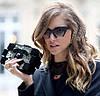 Полуободковые очки в стиле miu miu matblack&pink - Cat-Eye, фото 8